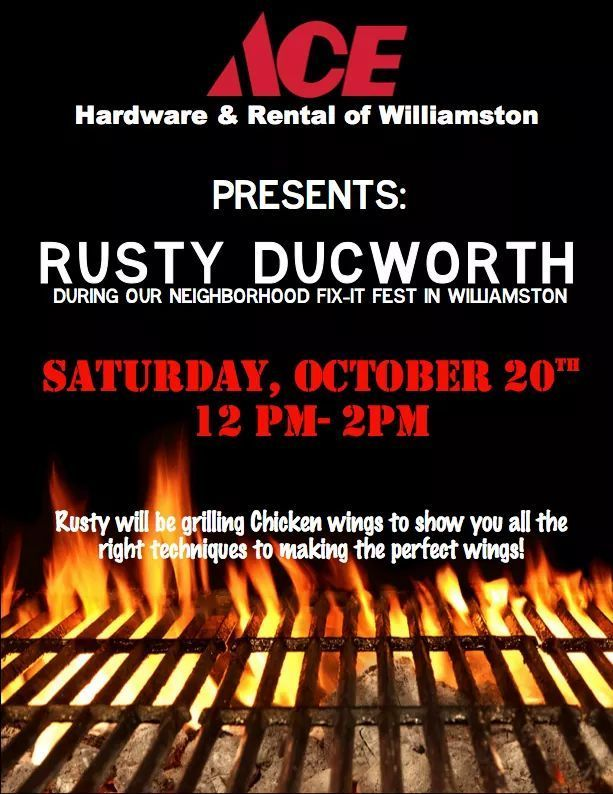 Visit Rusty 12PM-2PM  to learn all the right grilling techniques thumbnail