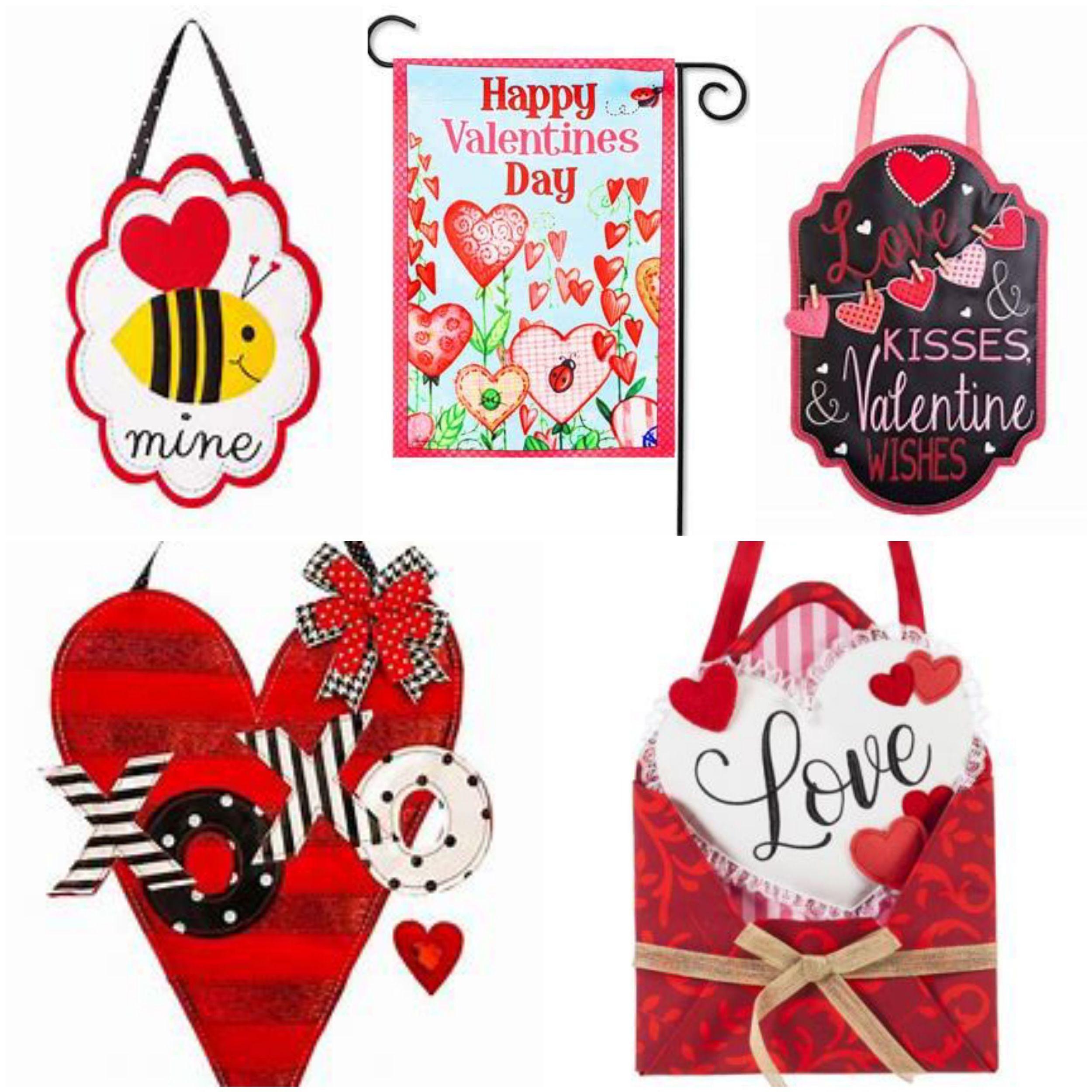 Valentine Door Hangers and Flags thumbnail
