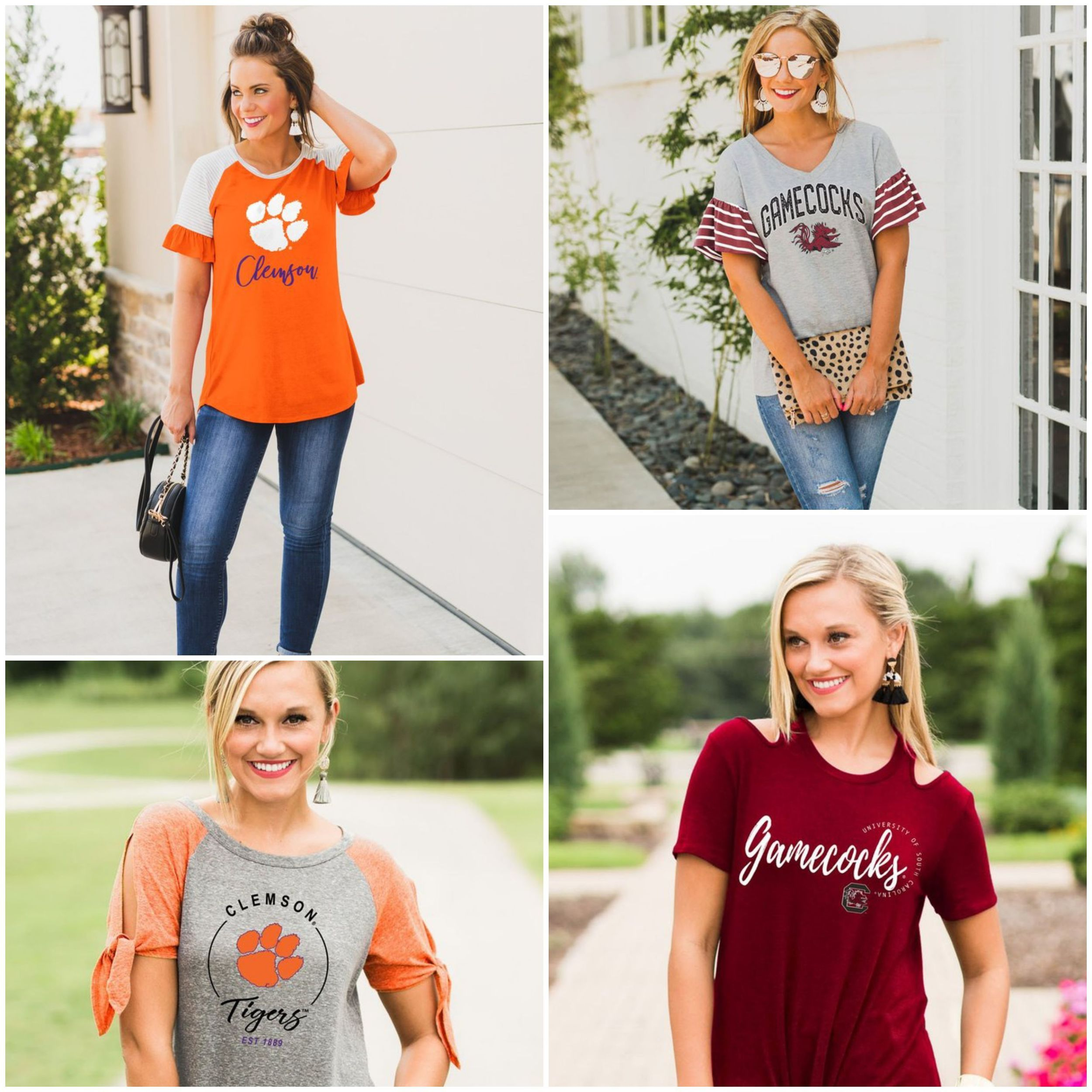 Gameday Couture, Clemson and South Carolina Apparel, for the style conscious, sophisticated sports enthusiast. thumbnail