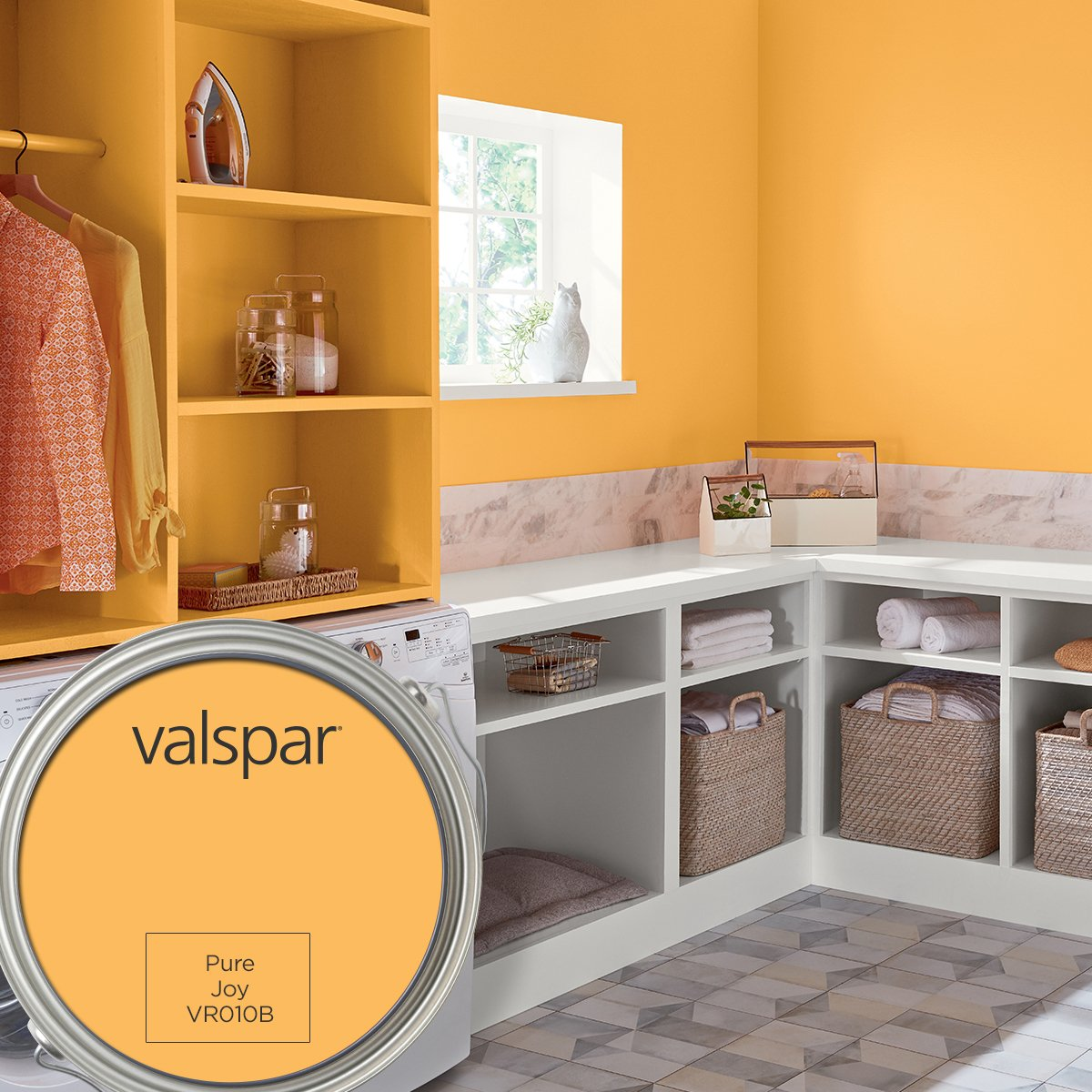 Add some Pure Joy to your home! Pure Joy by Valspar, our August Color of the Month! thumbnail