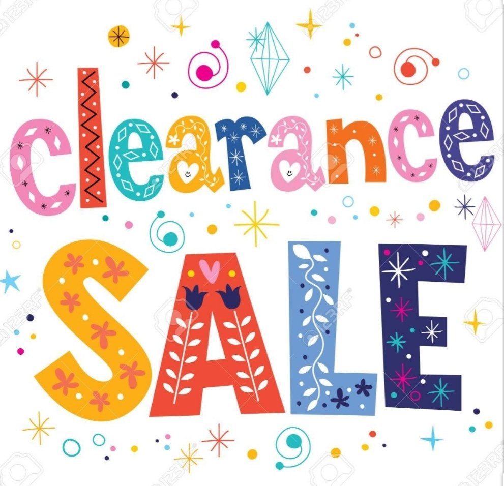 CLEARANCE SALE, Select group of Spring and Summer Fashion now 50%-75% Off! thumbnail