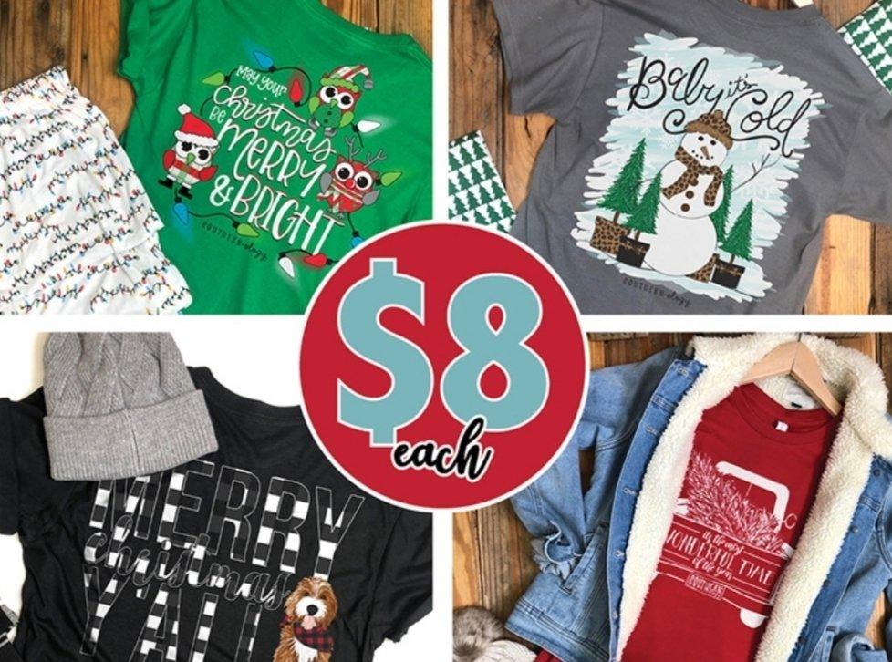 Southernology Christmas tees $8.00! *2XL and 3XL $10.00 thumbnail