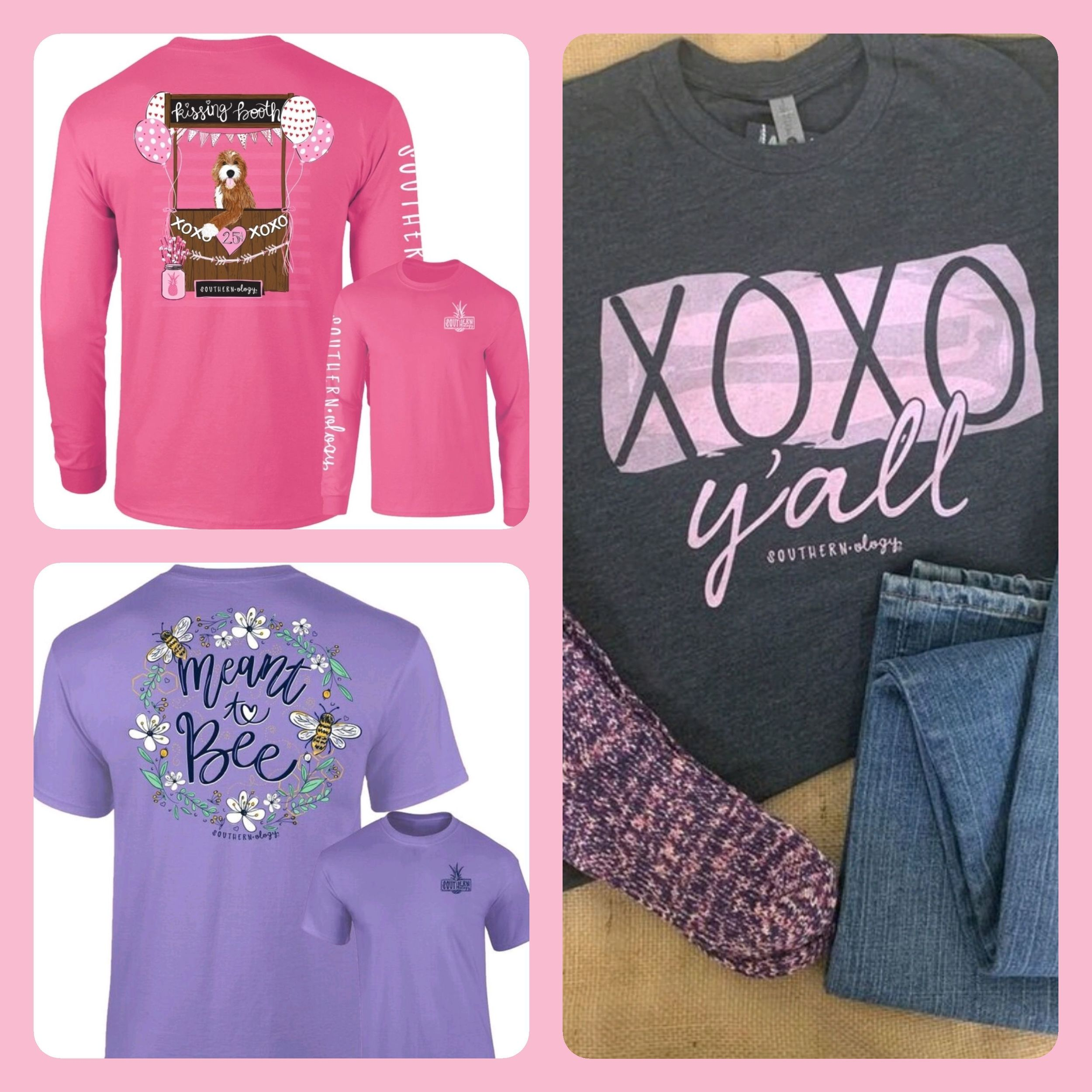 New Southernology Valentine Shirts Now in stock in Williamston and Honea Path. Sizes S-3XL thumbnail