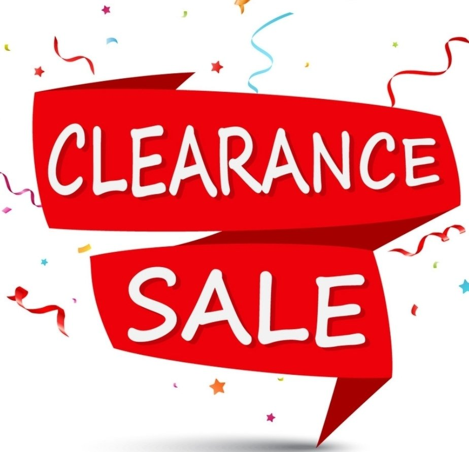 Be sure to visit our Clearance Sale, up to 75% off! thumbnail