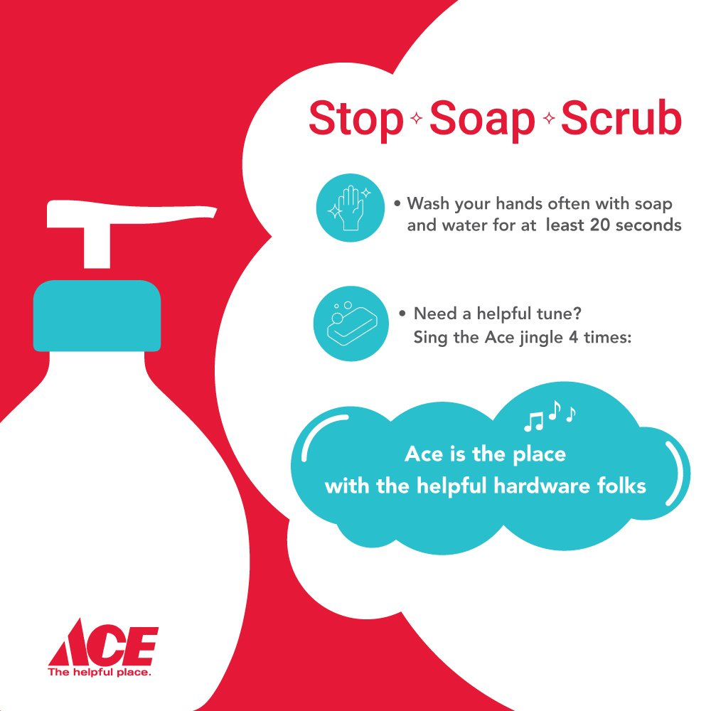 We care about the health of our communities. Stay safe and well by washing your hands frequently. thumbnail