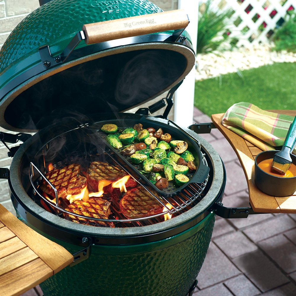 The Big Green Egg is the perfect Father's Day gift for all dads – from the backyard cook to the world's most acclaimed chefs – all sharing a love of great flavor, simplicity and the convenience of the most versatile outdoor cooker in the world! thumbnail