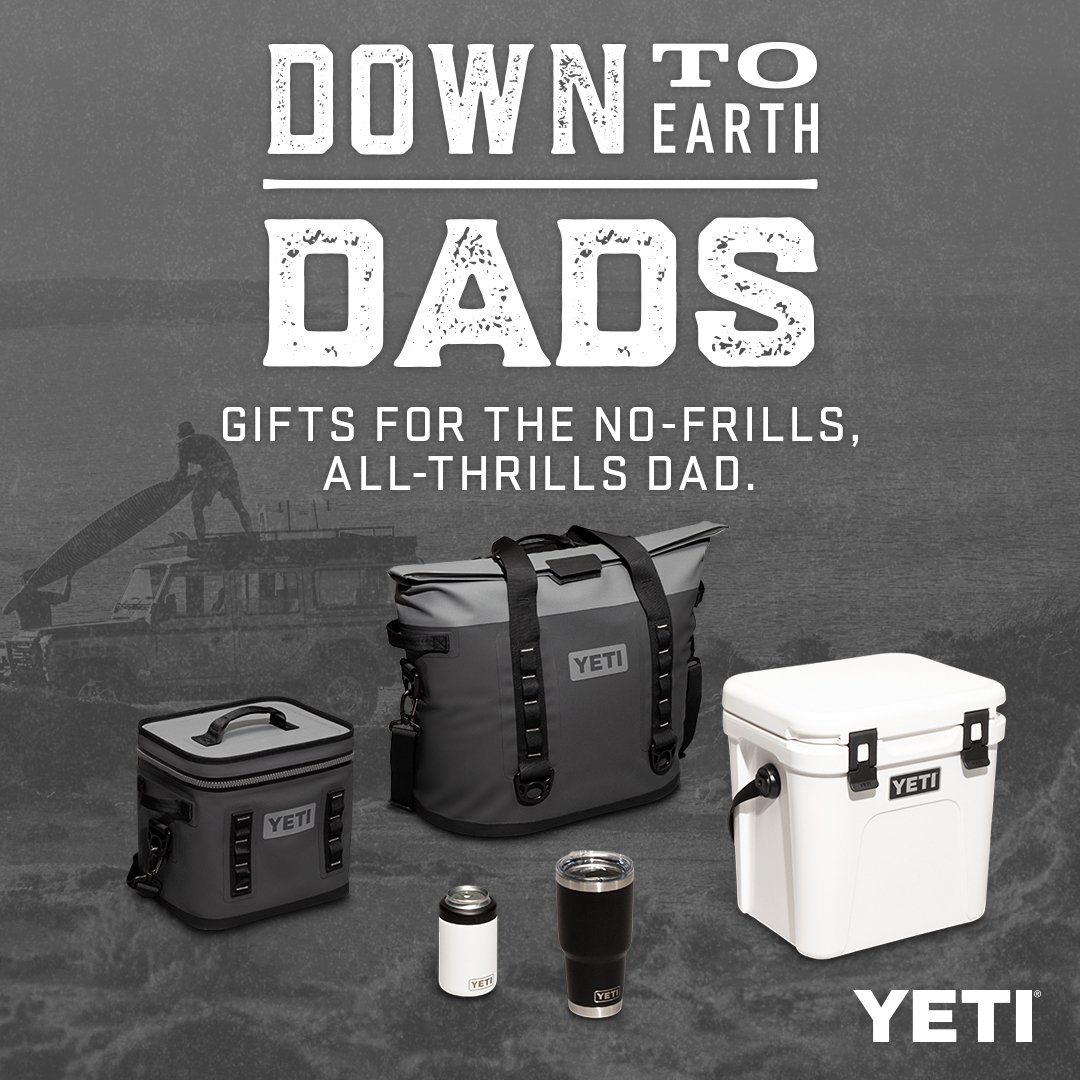This Father's Day, YETI's tippin' their hats to everydad who's set the bar, had your back, lent their sleeve —and never asked for an ounce in return. thumbnail