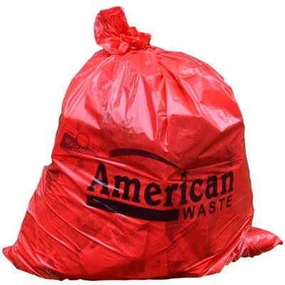 American Waste Red Garbage Bags thumbnail
