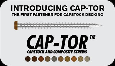 Deckfast Cap-Tor screws thumbnail
