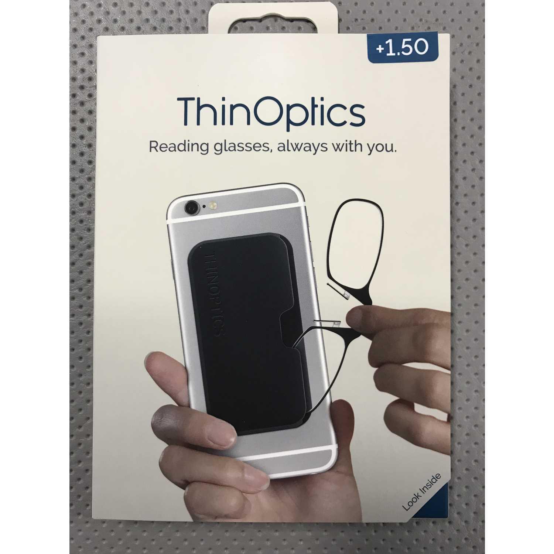 ThinOptics® Always with You Reading Glasses with Pod Case thumbnail