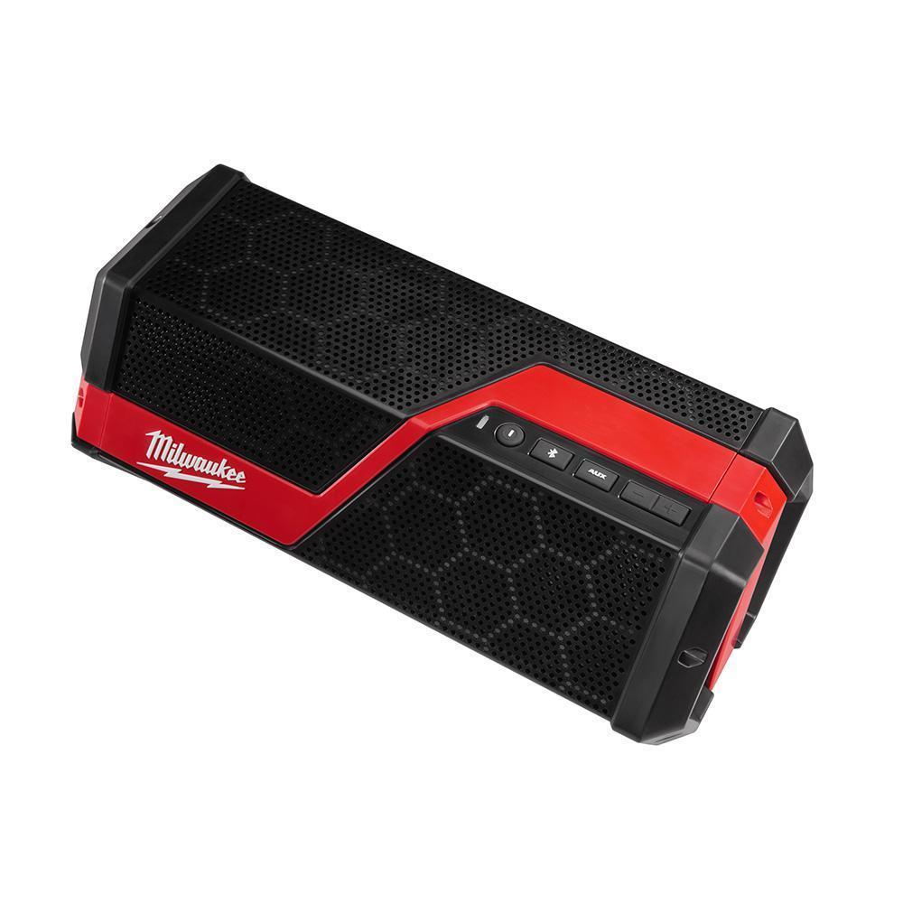 Milwaukee® M18/M12 Wireless Bluetooth Weather Resistant Jobsite Speaker thumbnail