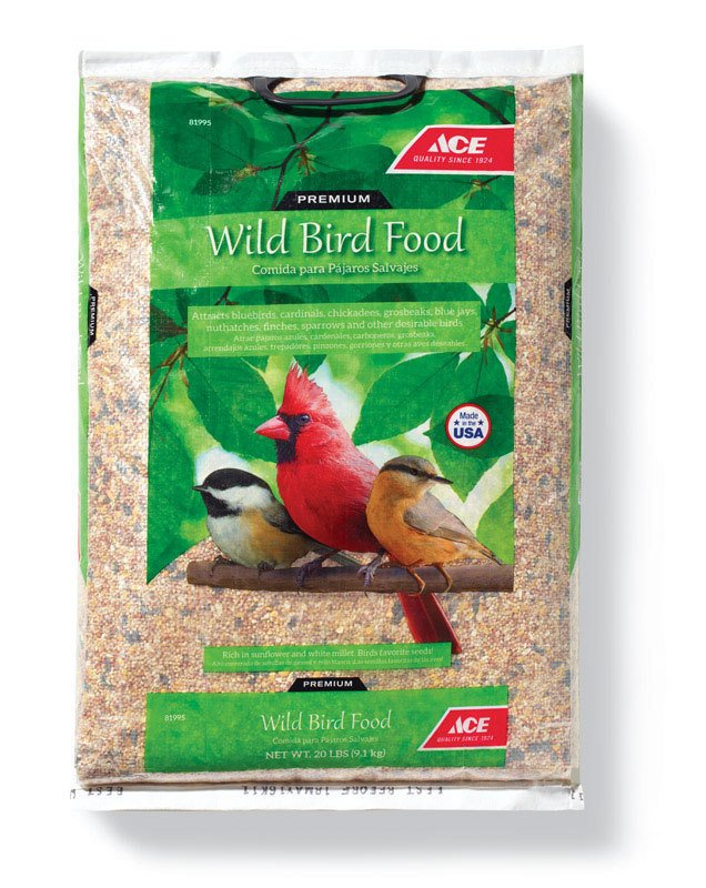 Ace Assorted Species Wild Bird Food Millet and Milo