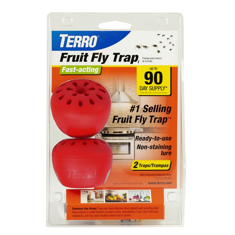 Terro 2 Pack Fruit Fly Traps