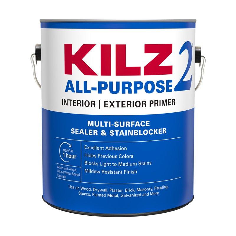 Kilz 2 White Latex Primer/Sealer Stain blocker, Gallon