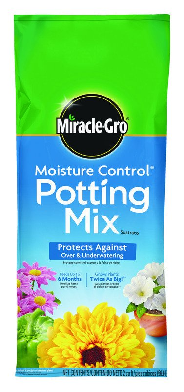 Miracle Gro Moisture Control Potting Mix