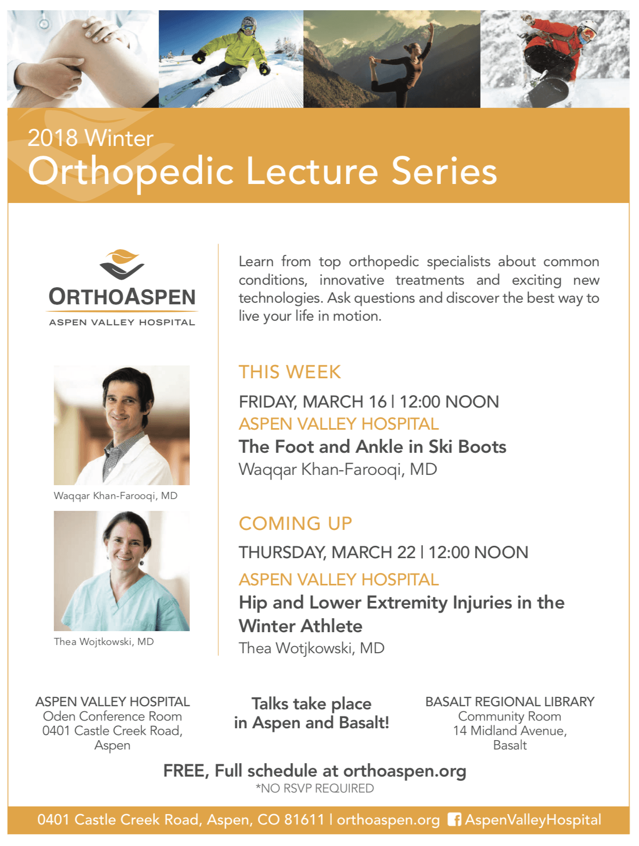 AVH Ortho Lecture Series thumbnail