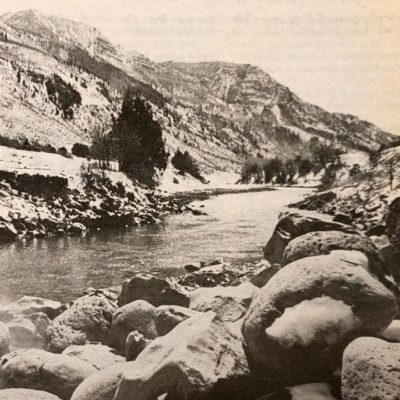 Pages of the Past: Big boulders in a little hot spring thumbnail