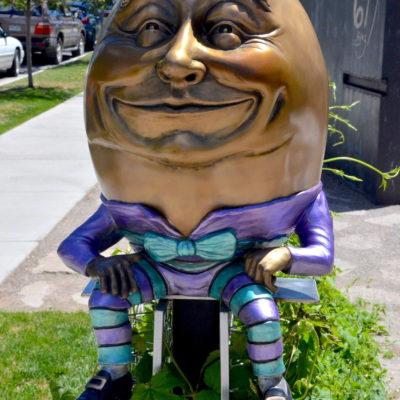 Humpty to remain at library thumbnail
