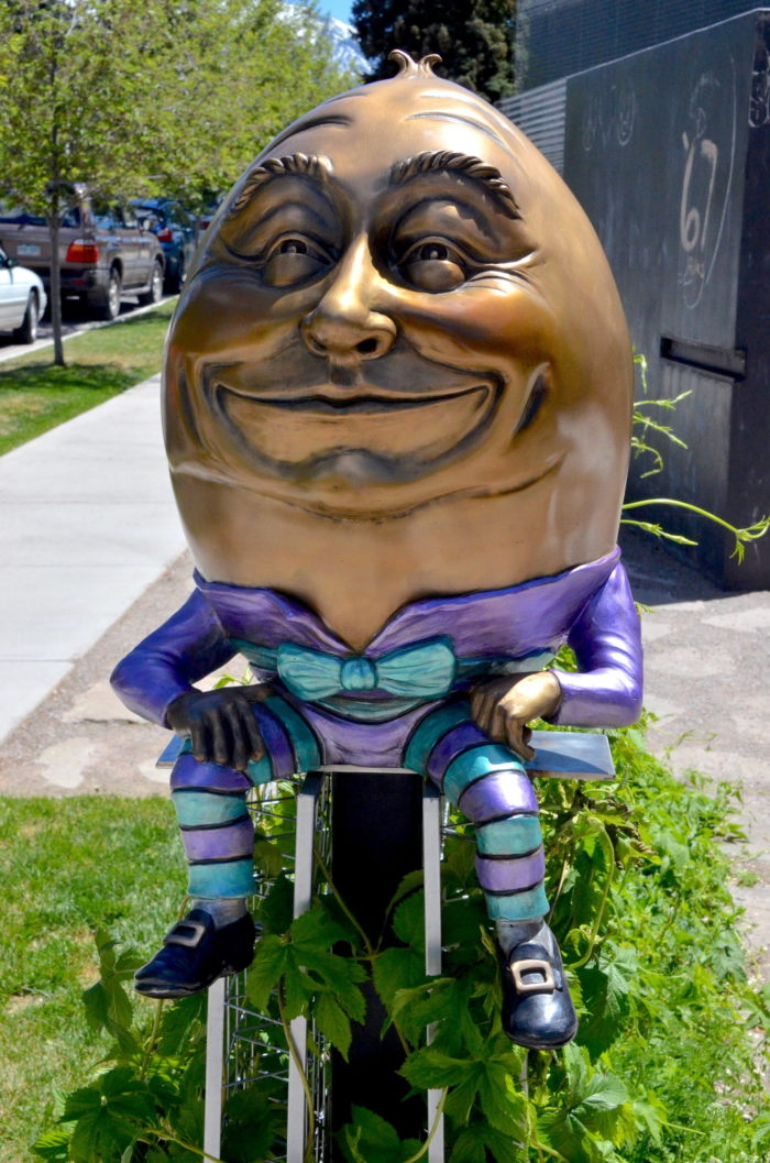 Humpty to remain at library thumbnail