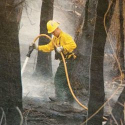 Pages of the Past: Spring fire sparks evacuations along Catherine Store Road thumbnail