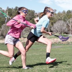 Girls come together in fledgling lacrosse program thumbnail