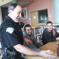 School resource officer losing sight, but not vision thumbnail