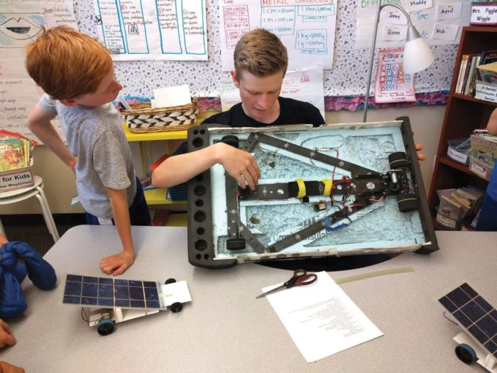 RFHS senior keeps solar rolling thumbnail