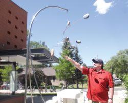 New sculptures installed around town thumbnail