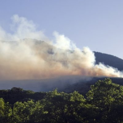 Oak Meadows Fire flares up Four Mile thumbnail