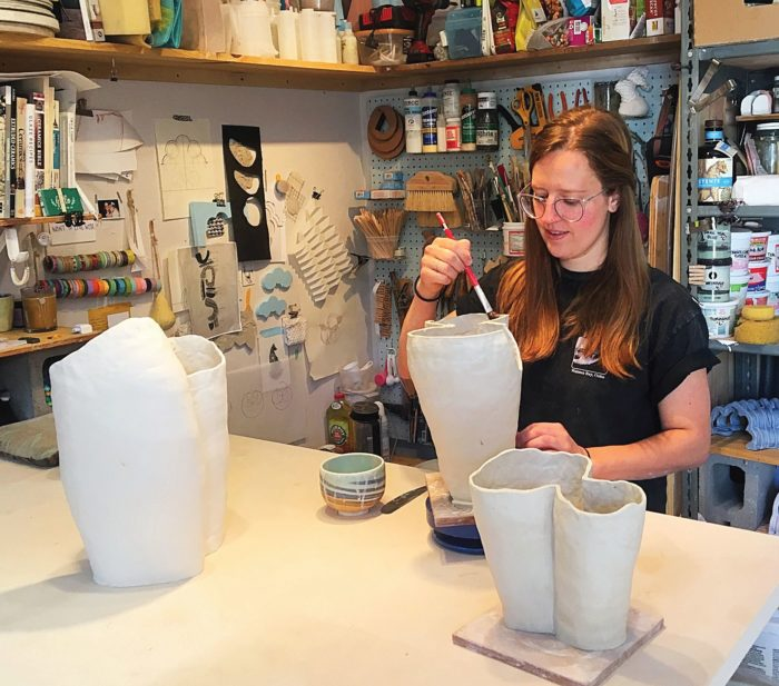 Ceramicists' individual pursuits result in Paralleled Pastiche thumbnail