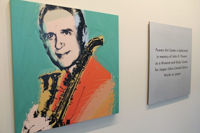 Local legacy collection includes works by Andy Warhol, Jasper Johns thumbnail
