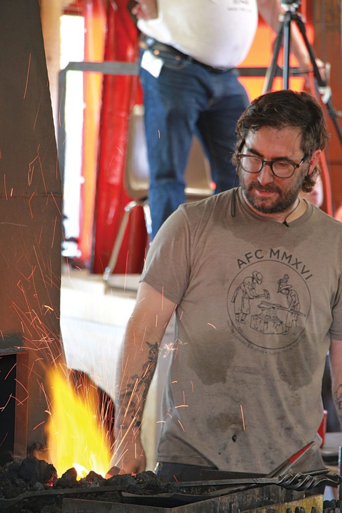 Blacksmithing conference shows CRMS a stronghold of the craft thumbnail