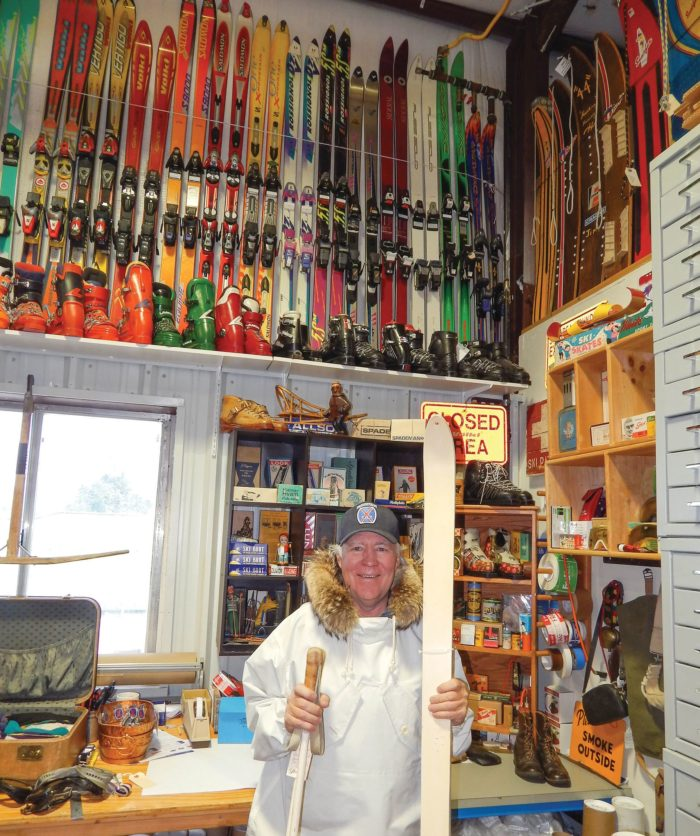 New Carbondale retail space, museum offers 'national treasure' of ski collectibles thumbnail