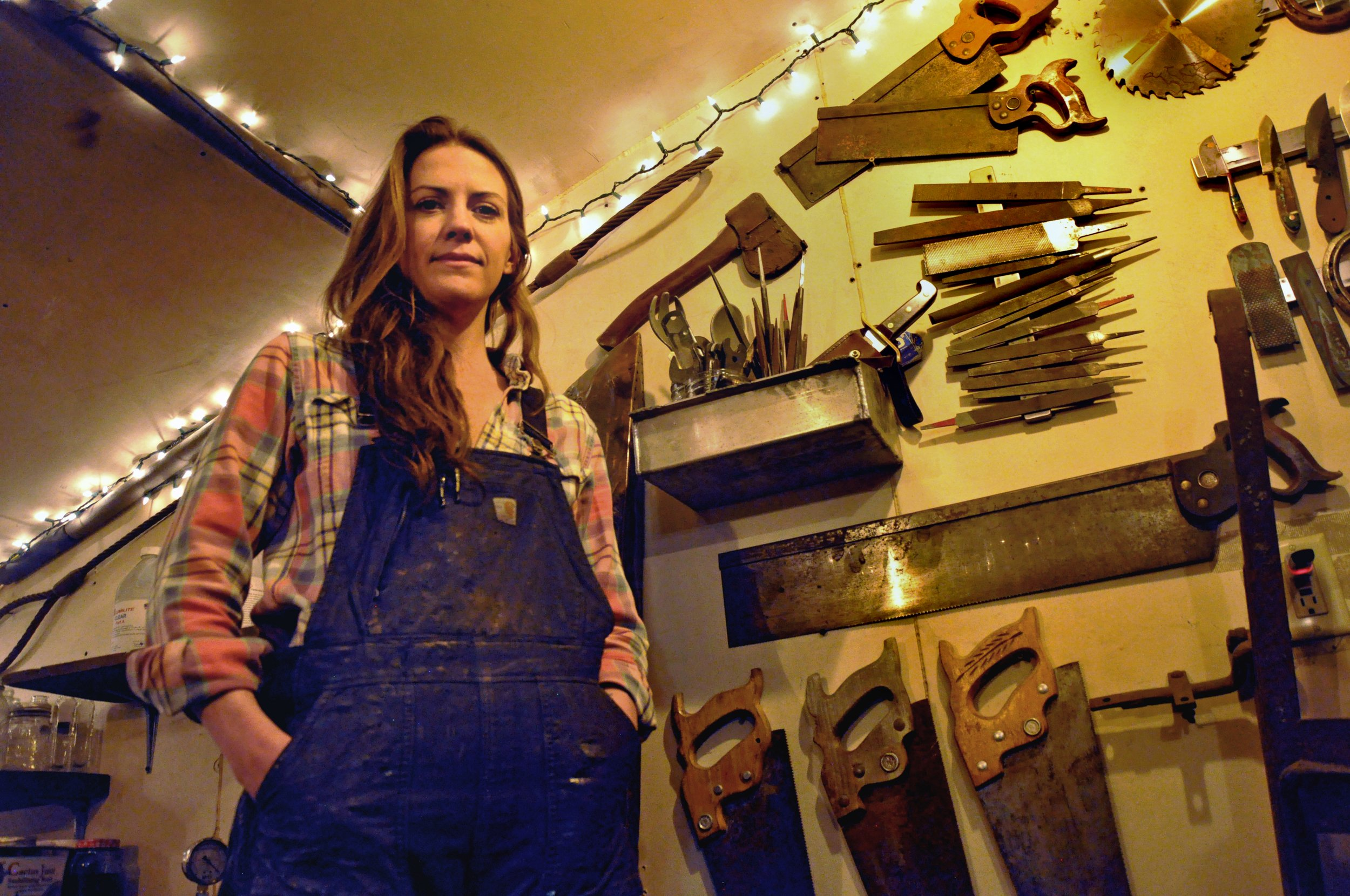 Knifemaker creates perfection from imperfection – The Sopris Sun