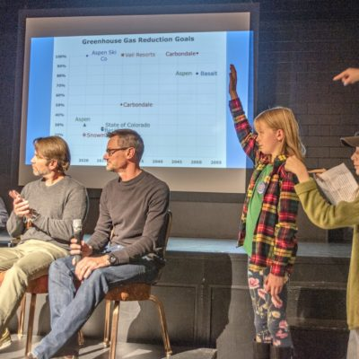 Students drive conversation at climate change forum thumbnail