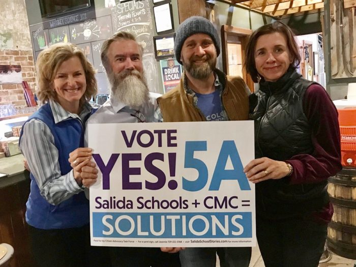 Virgili and Hartzell win CMC trustee, Salida a slam dunk thumbnail