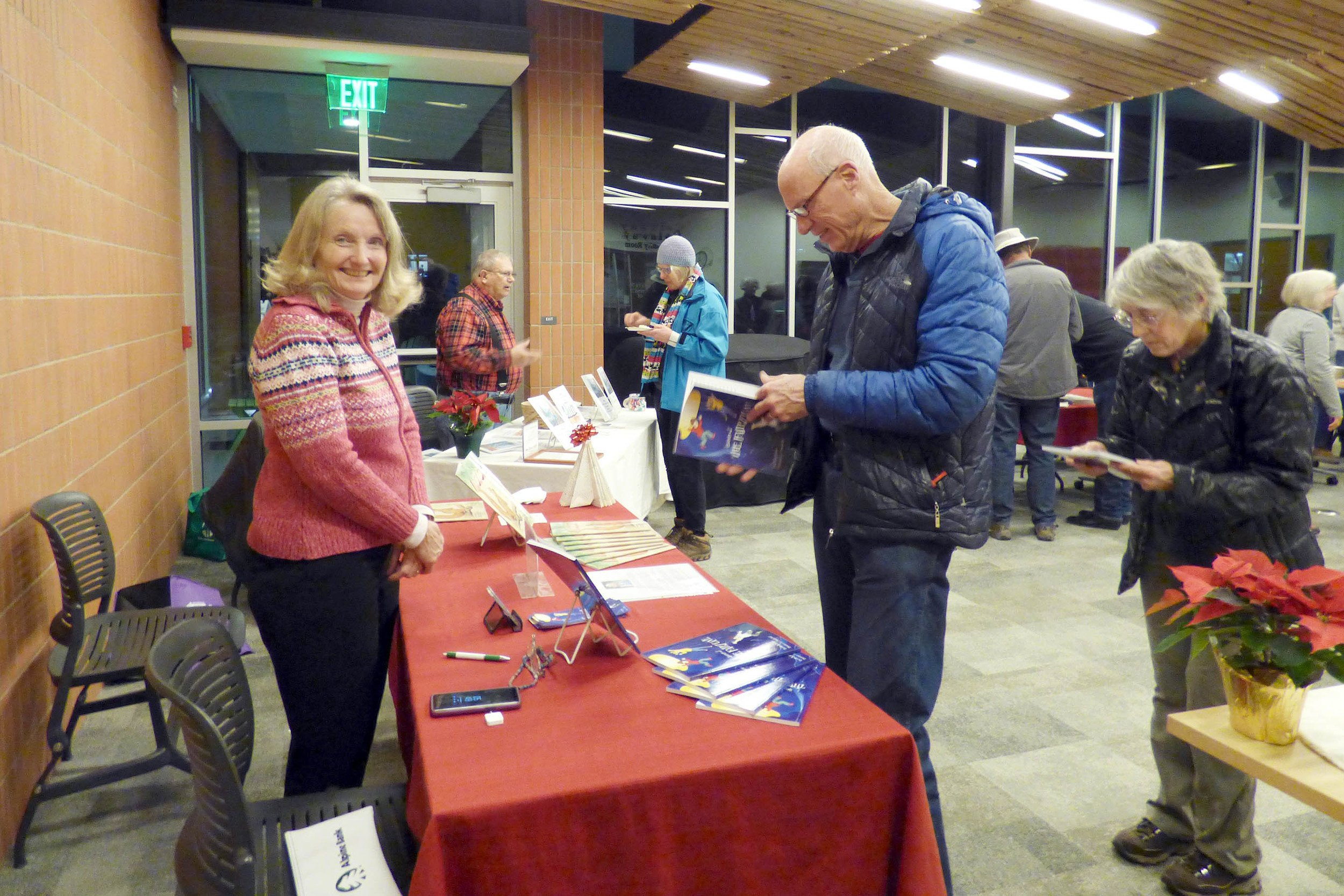 Library showcases books for all by local authors thumbnail