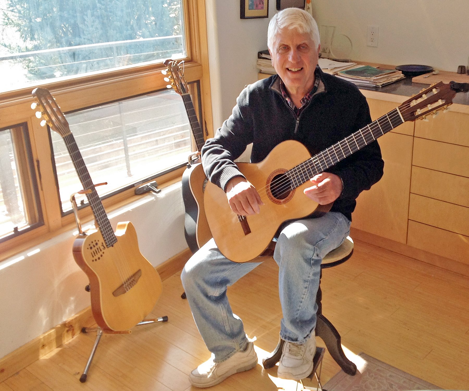 Our Town: John Ramo provides the guitars and percussion thumbnail