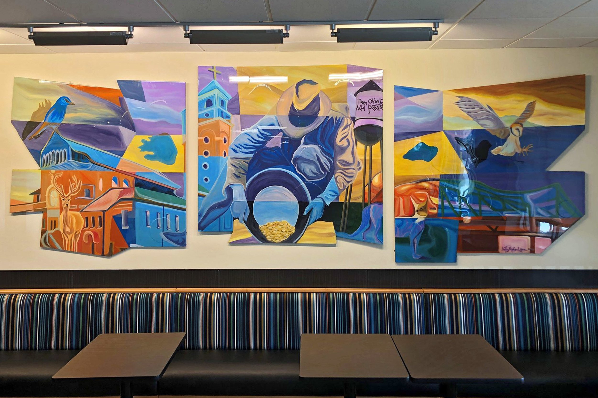 Carbondale Arts teams up with Kroger for art installation thumbnail