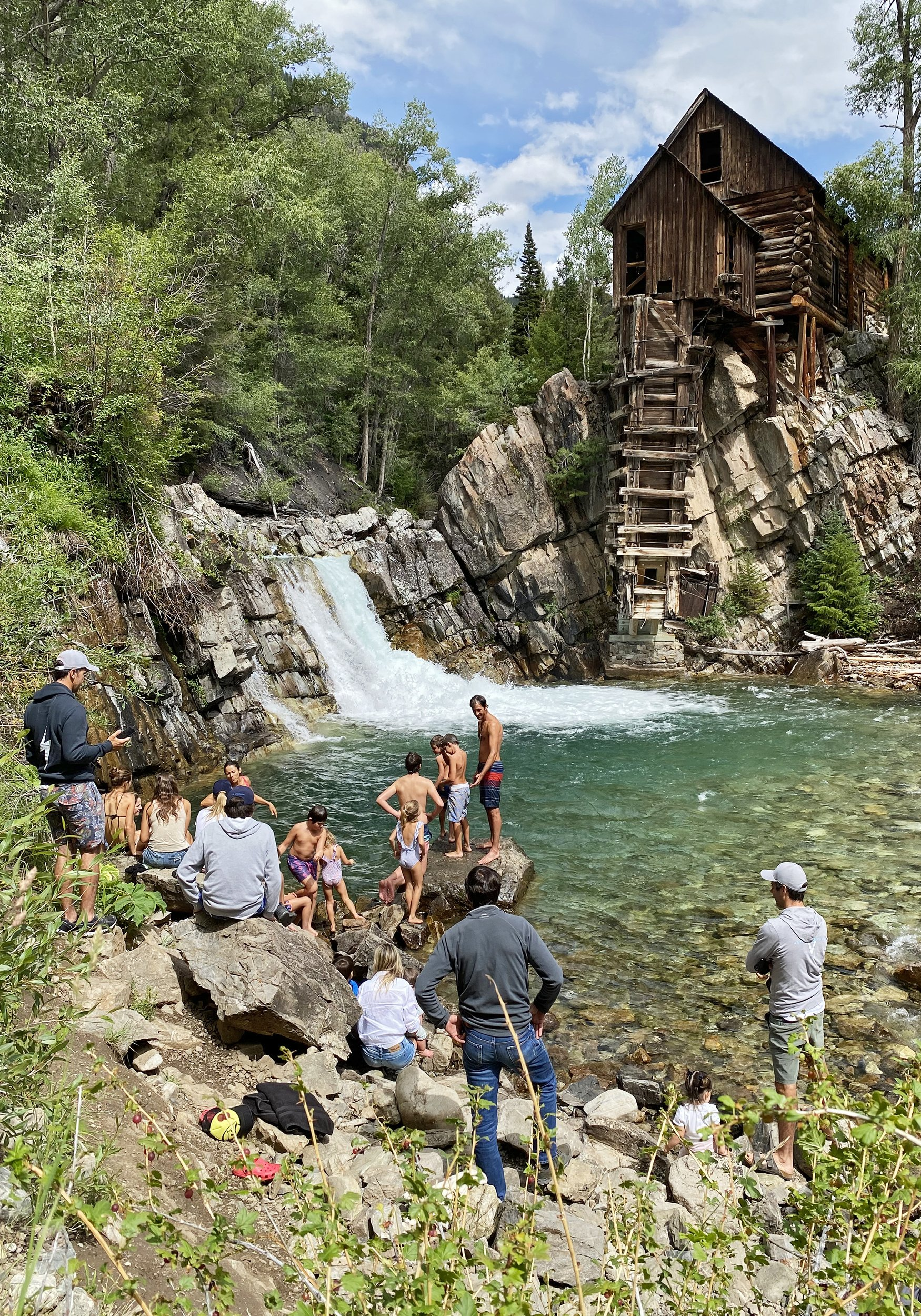Laying a foundation for preservation at the Crystal Mill thumbnail