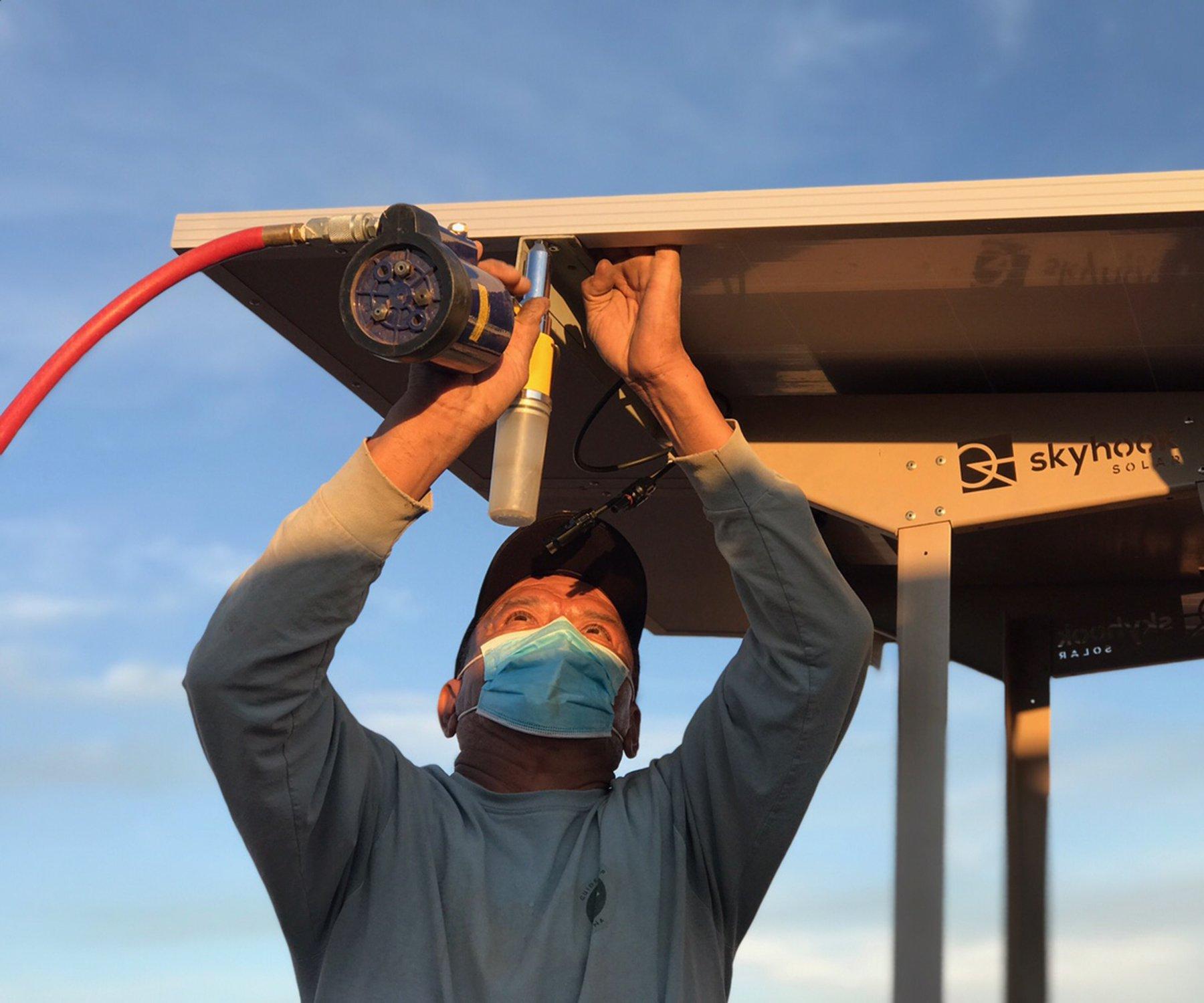 Local company brings solar stations to the Navajo Nation thumbnail