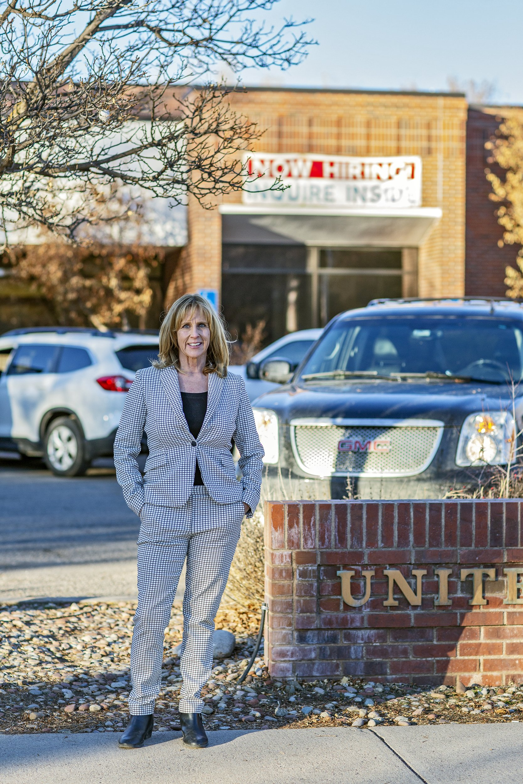 Postmaster Kim Ballantine took over the Carbondale post office in July.