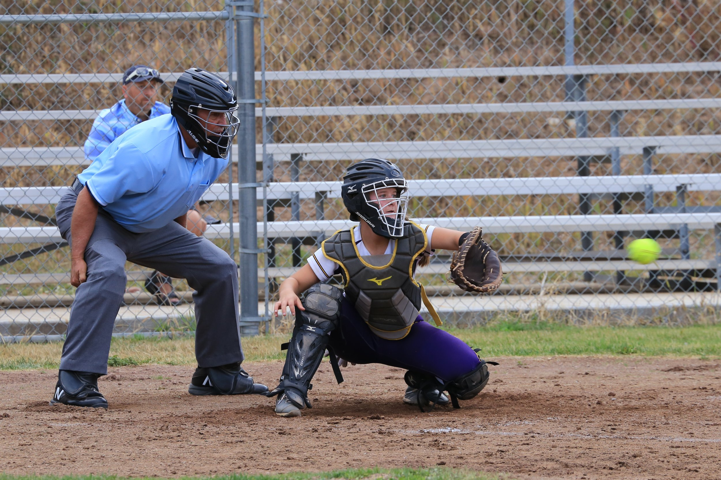 Roaring Fork student Maya Lindgren earned honors for their role on the Basalt softball team. Photo by Sue Rollyson