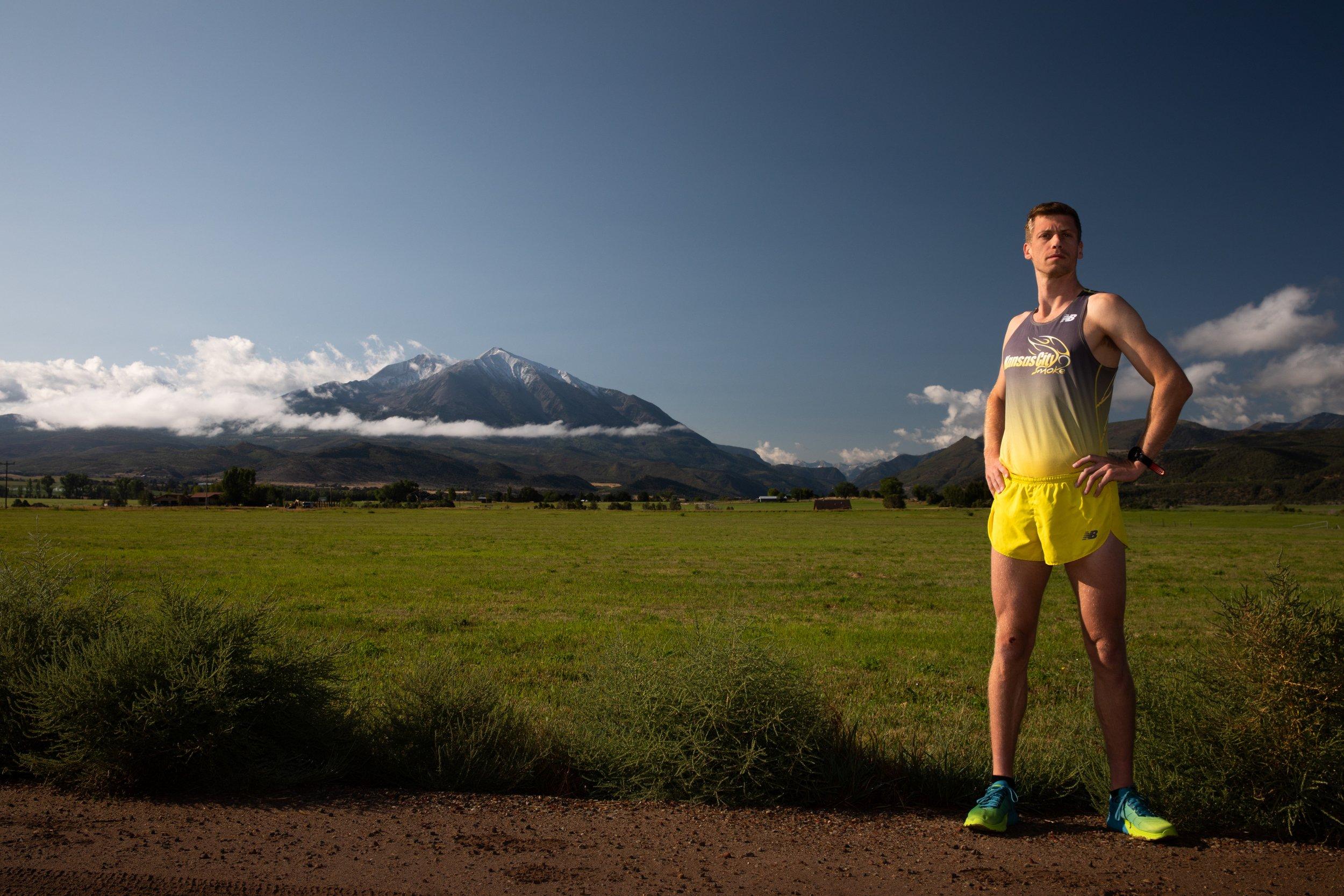 Justin Garrard ran in September to raise awareness for Ascendigo. Photo by Mark Burrows
