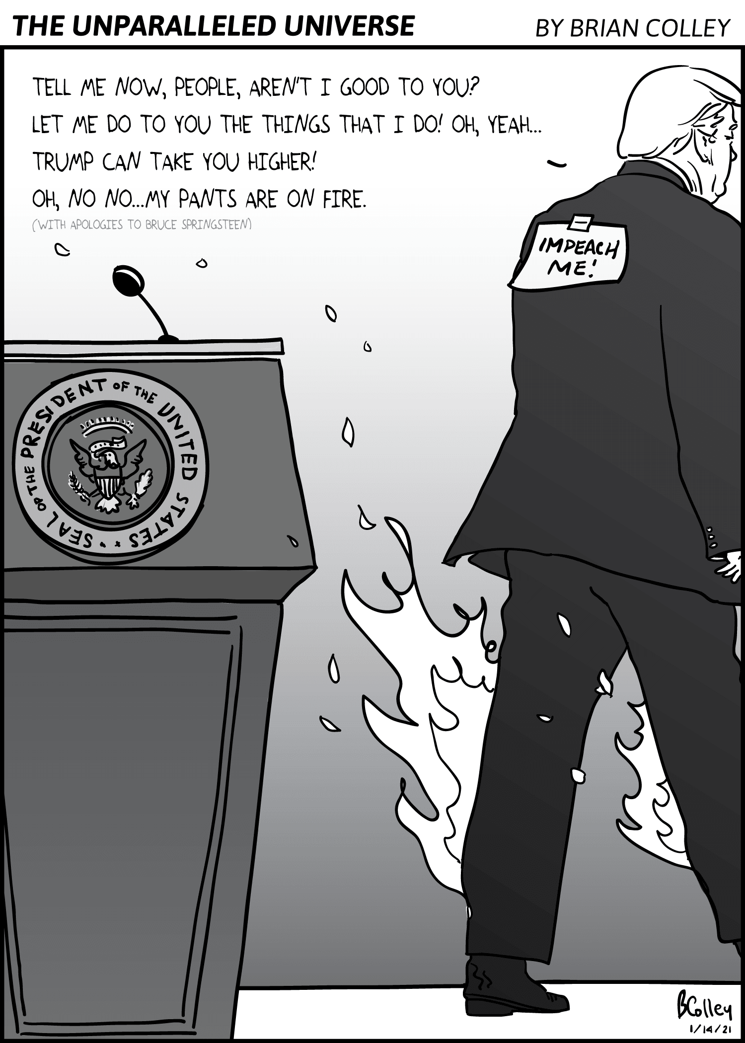 Sopris Sun Comic by Brian Colley, January 14, 2021