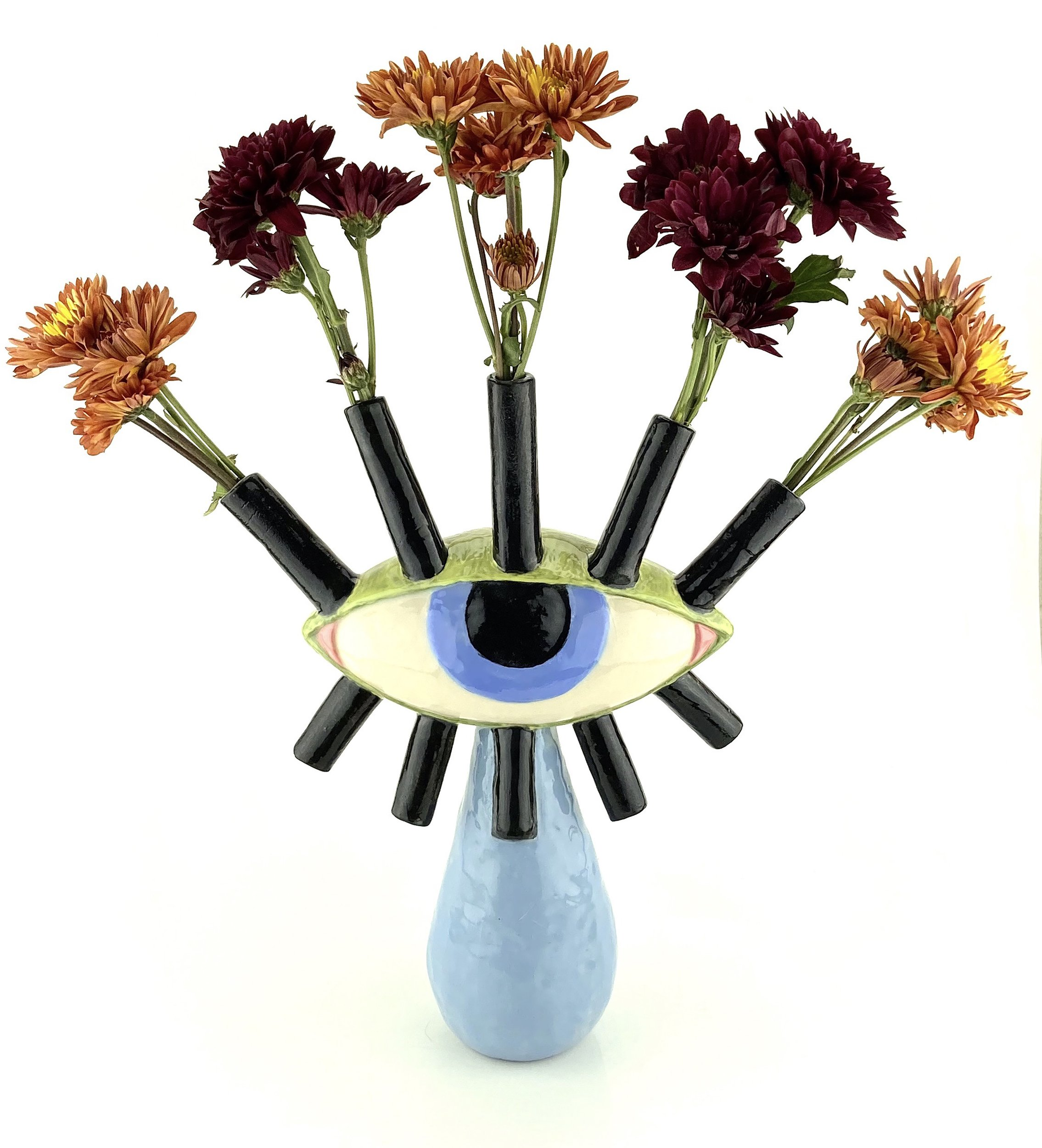 Eyeball Vase by Ashley Bevington.