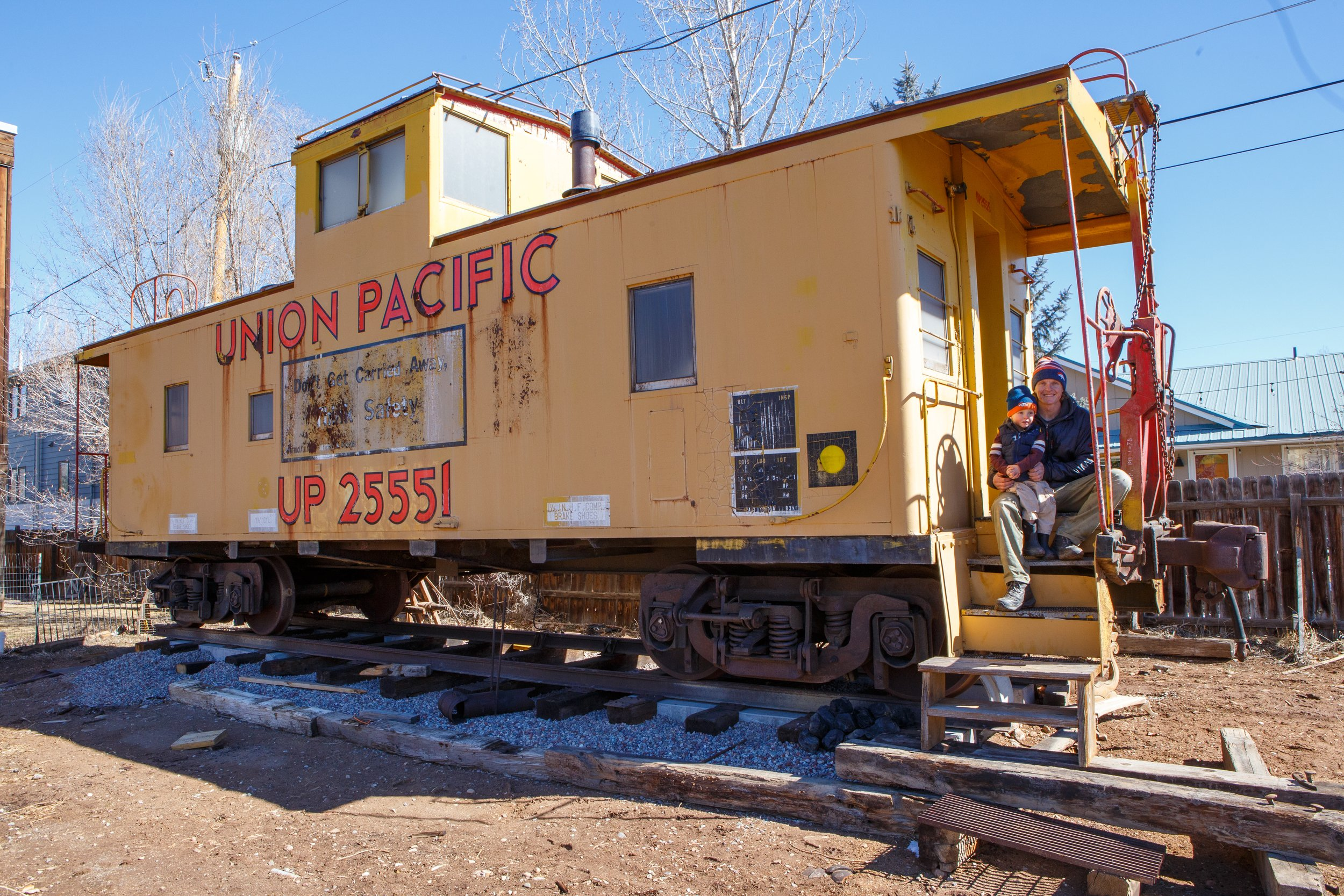 A caboose comes to Carbondale thumbnail