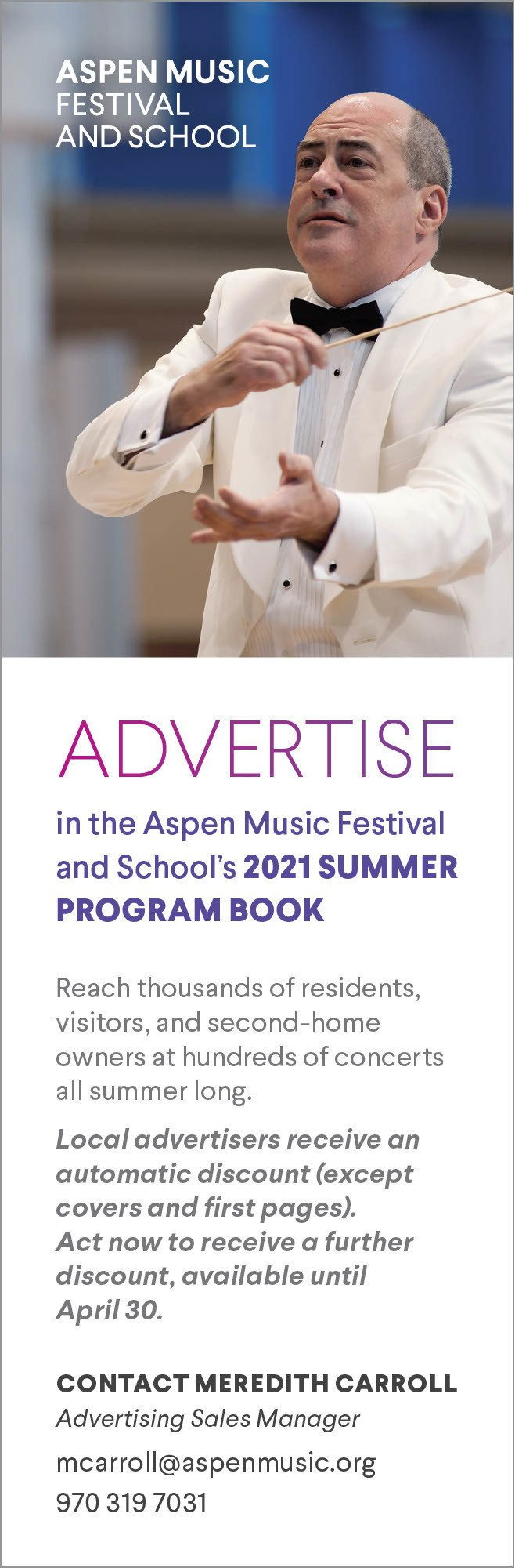 Aspen Music Festival advertise thumbnail