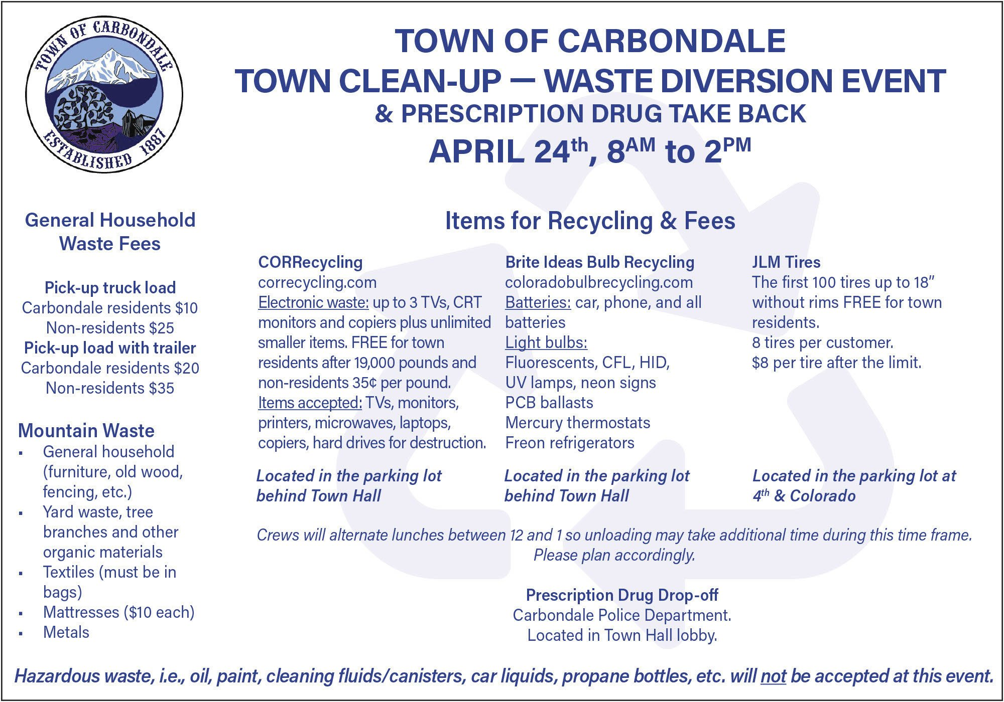 Carbondale town cleanup thumbnail