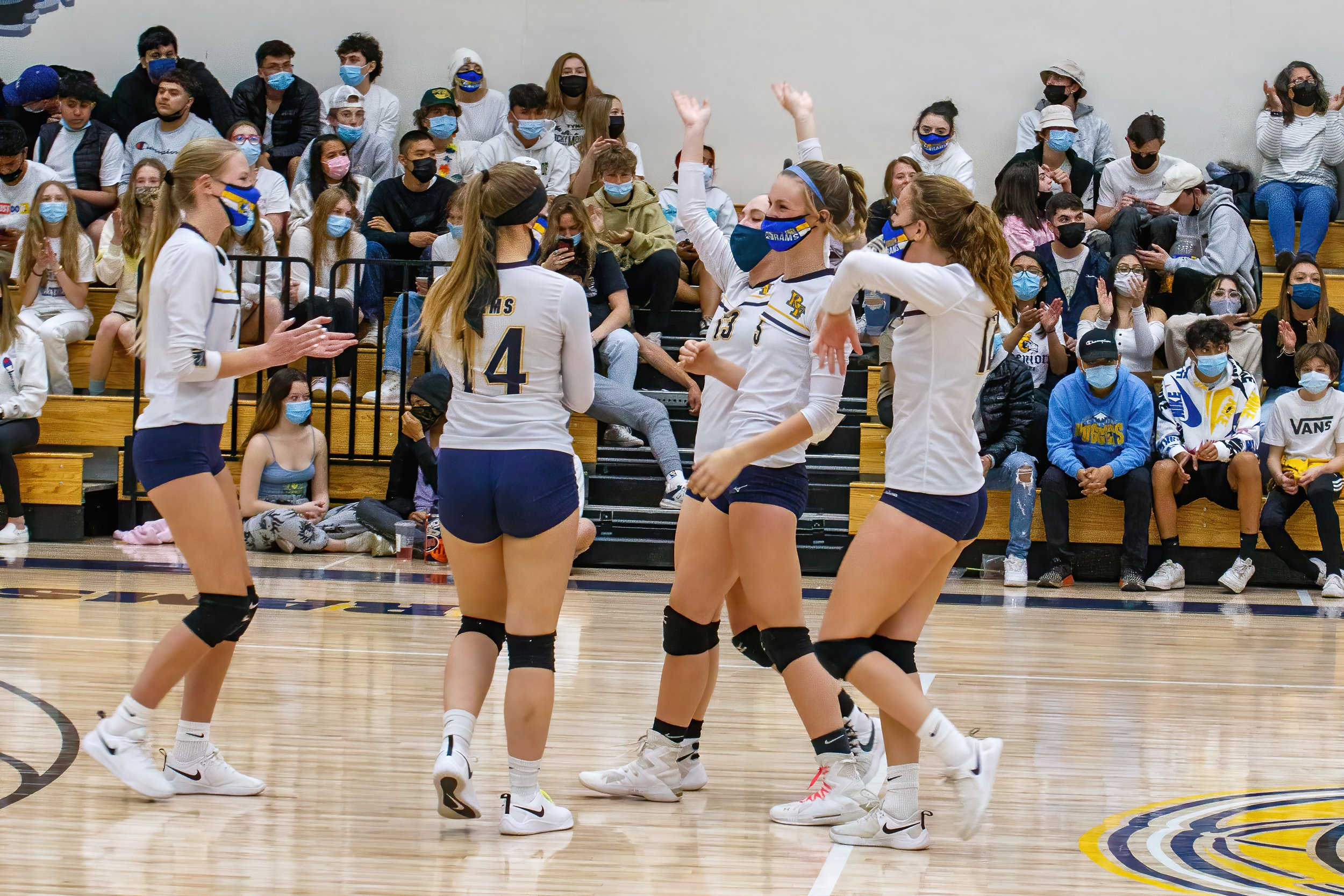 RFHS volleyball: where camaraderie wins thumbnail